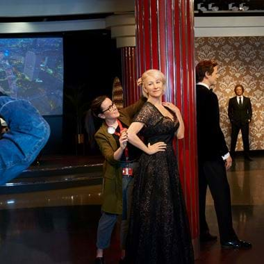 Waxwork of Helen Mirren