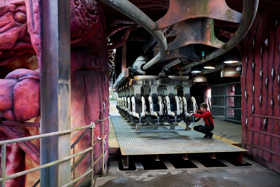 Nemesis ride without passengers
