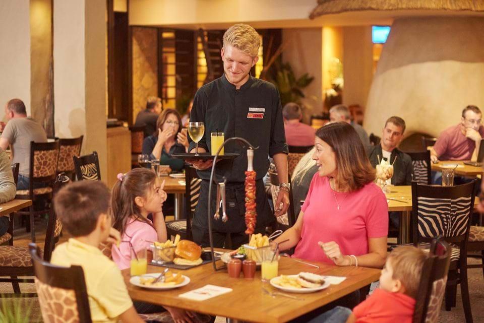 Waiting Staff at Chessington World of Adventures Resort